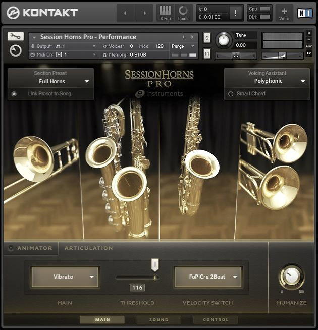 Native Instruments - Session Horns