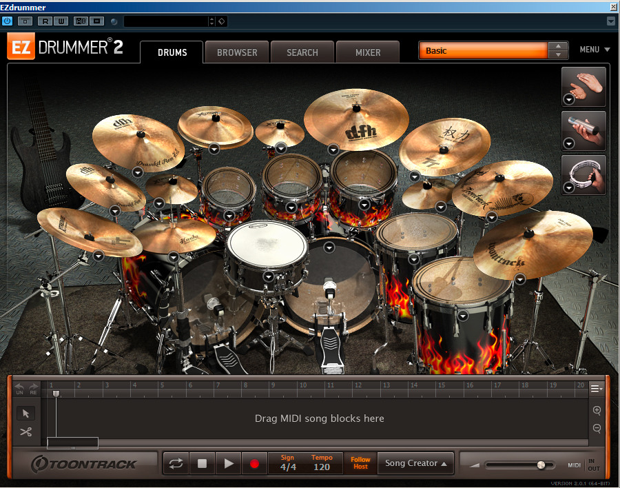 drumkit from hell EZDrummer 2
